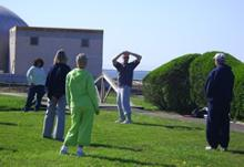 T'ai Chi in the Park (May 5, 2007): A summer of T'ai Chi and Qigong begins in Shorefront Park with Laoshi Laurince McElroy discussing and demonstrating the intricacies of a signature warm-up from Water Tiger, the T'ai Chi Qigong Stretch.
