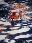 "In the Office (February 2013): For some reason, students think images with tigers and water would be a gift to Water Tiger. This gorgeous trivet was an ""I saw it and thought of you"" gift from a public class student."