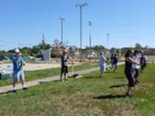 T'ai Chi in the Park (August 24, 2013): It was a mixed bag for the folks who showed up at Shorefront Park that ended with everyone playing their way through an introduction to Wave Hands Like Clouds.